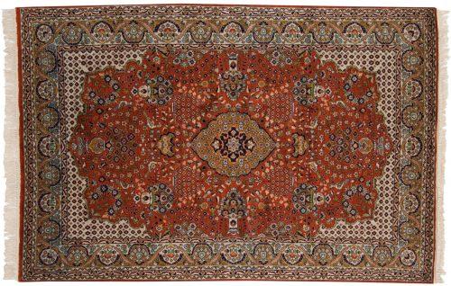 4×6 Kashmir Rust Oriental Rug 013174