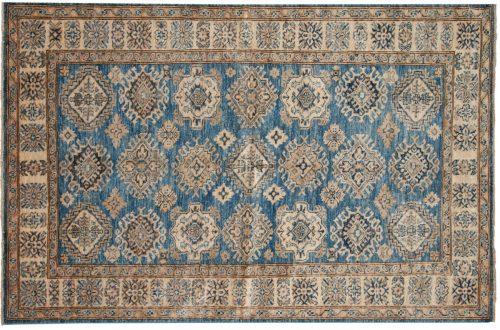 4×6 Kazak Blue Oriental Rug 048810