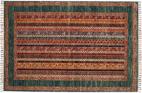 4×6 Kazak Multi Color Oriental Rug 048813