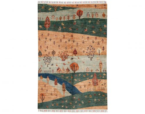 4×6 Kazak Multi Color Oriental Rug 048815