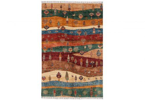 4×6 Kazak Multi Color Oriental Rug 048816