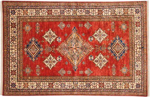 4×6 Kazak Red Oriental Rug 048795