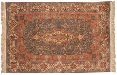 4×6 Kerman Blue Oriental Rug 016881