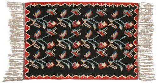 4×6 Kilim Black Oriental Rug 034573