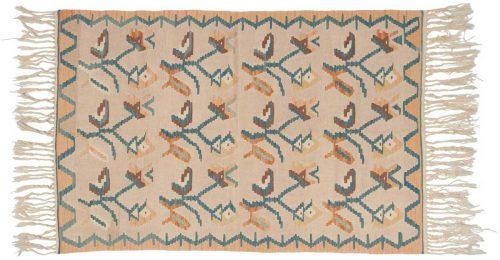 4×6 Kilim Ivory Oriental Rug 034538