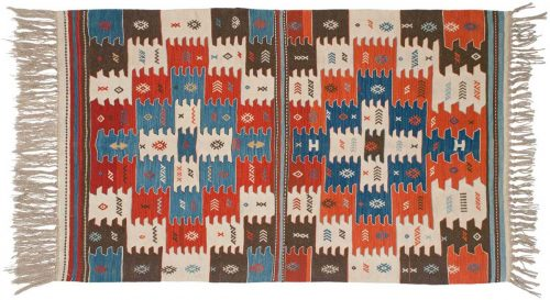 4×6 Kilim Multi Color Oriental Rug 034575