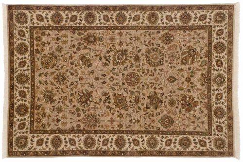 4×6 Mahal Beige Oriental Rug 042557
