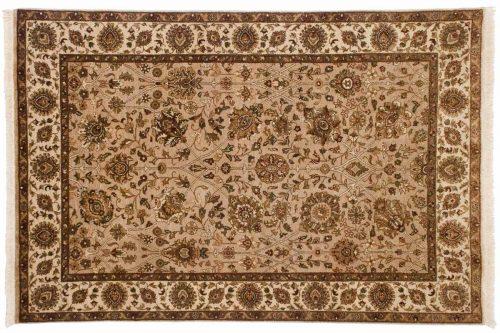 4×6 Mahal Beige Oriental Rug 042558