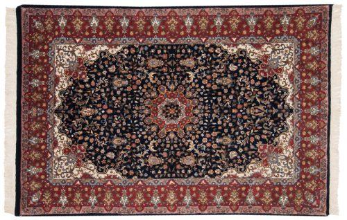 4×6 Mashad Blue Oriental Rug 015949