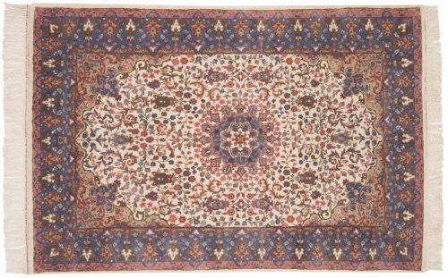 4×6 Mashad Ivory Oriental Rug 015855