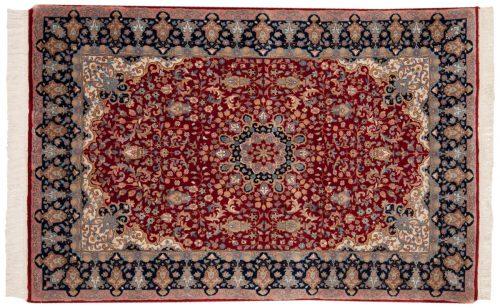 4×6 Mashad Red Oriental Rug 015541