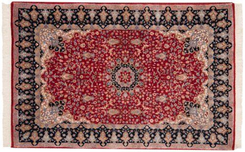 4×6 Mashad Red Oriental Rug 015542