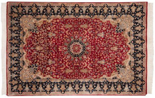 4×6 Mashad Red Oriental Rug 015543