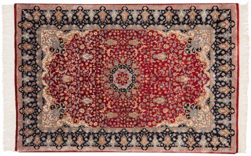 4×6 Mashad Red Oriental Rug 015801