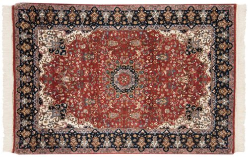 4×6 Mashad Red Oriental Rug 016247