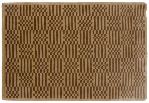 4×6 Stripe Green Oriental Rug 032299