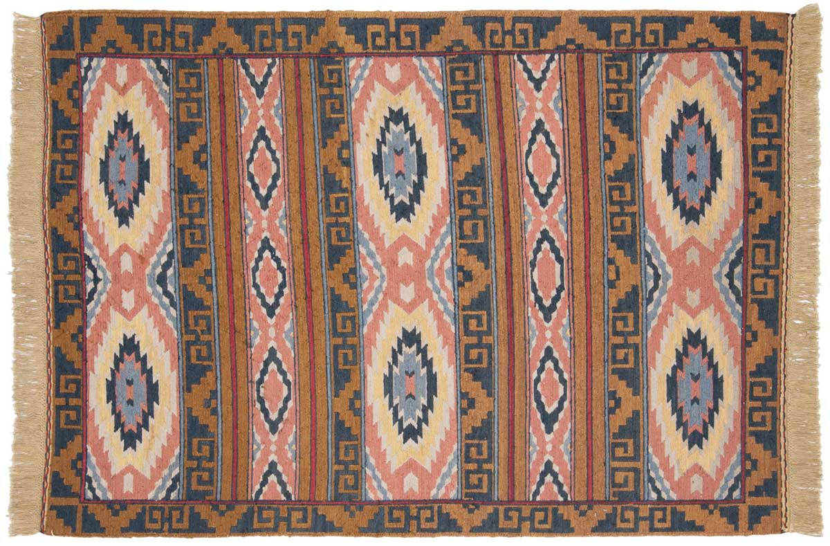 4x6 Aztek Multi Color Oriental Rug 012636