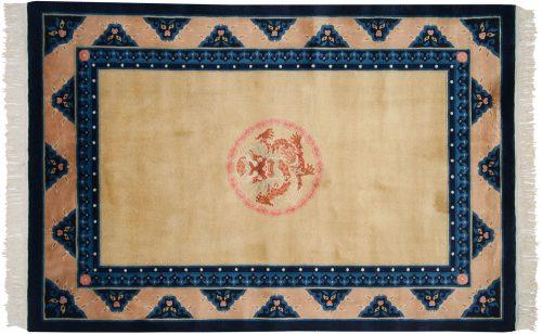4×6 Peking Gold Oriental Rug 018218