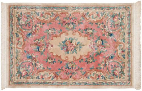 4×6 Peking Rose Oriental Rug 029653