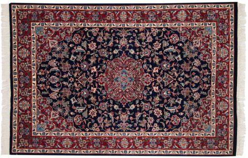 4×6 Persian Blue Oriental Rug 013808