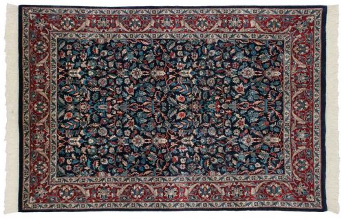 4×6 Persian Blue Oriental Rug 025641