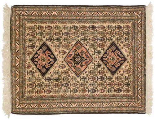 4×6 Persian Guba Beige Oriental Rug 035453