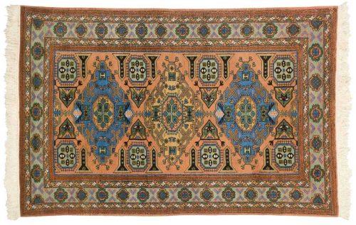 4×6 Persian Guba Peach Oriental Rug 035446