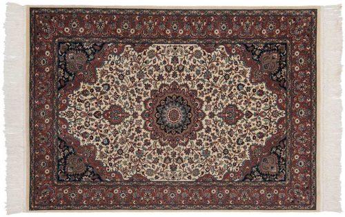 4×6 Persian Ivory Oriental Rug 021479
