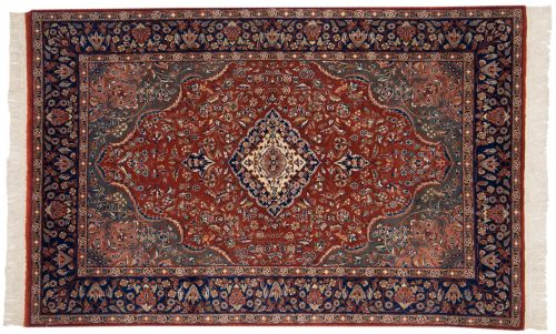 4×6 Persian Rust Oriental Rug 013833