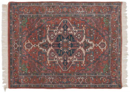 4×6 Heriz Rust Oriental Rug 016869