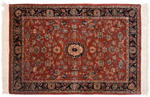 4×6 Persian Rust Oriental Rug 019347
