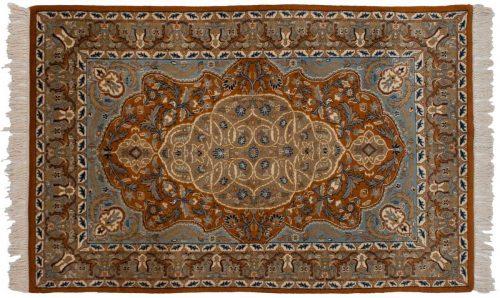 4×6 Kashan Rust Oriental Rug 023242