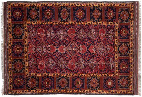 4×6 Taghan Rust Oriental Rug 025701