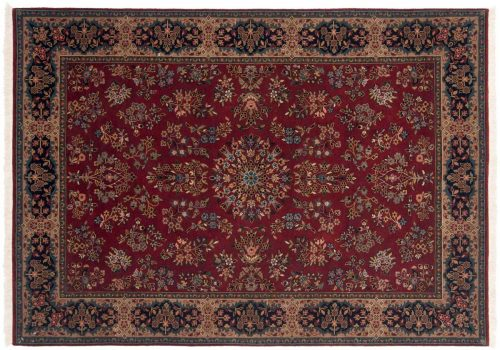 4×6 Sarouk Rust Oriental Rug 047087