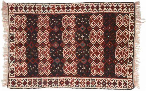 4×6 Sarkoy Multi Color Oriental Rug 034632
