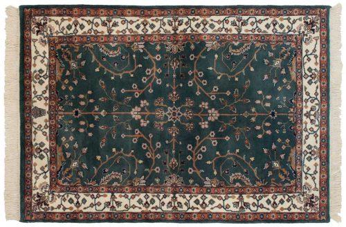 4×6 Sarouk Teal Oriental Rug 030911