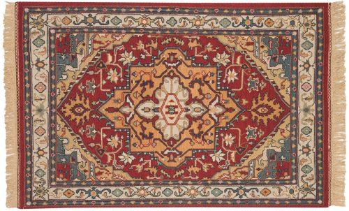 4×6 Serapi Burgundy Oriental Rug 012784