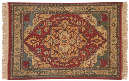 4×6 Serapi Burgundy Oriental Rug 012795