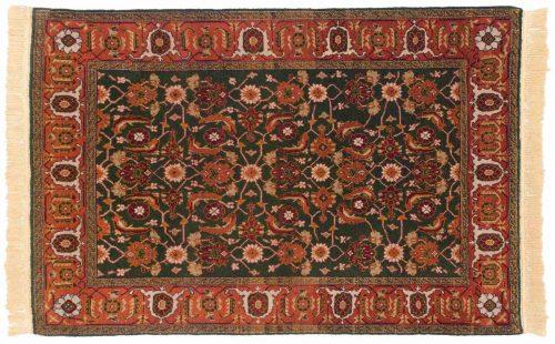 4×6 Shirvan Green Oriental Rug 028229