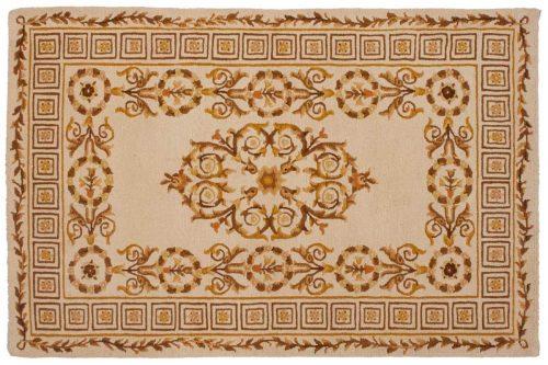 4×6 Spanish Gold Oriental Rug 012395