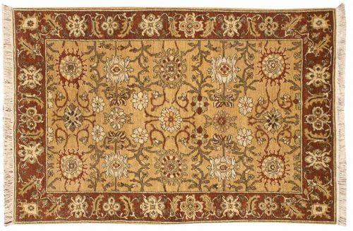 4×6 Sultanabad Gold Oriental Rug 021038