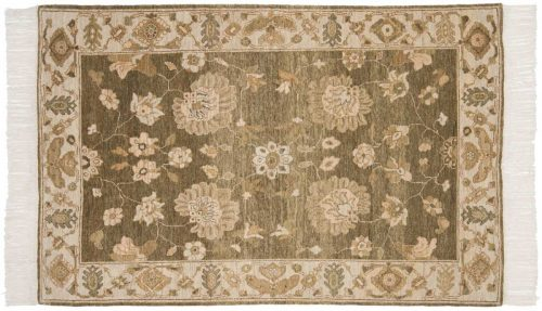 4×6 Sultanabad Green Oriental Rug 020348