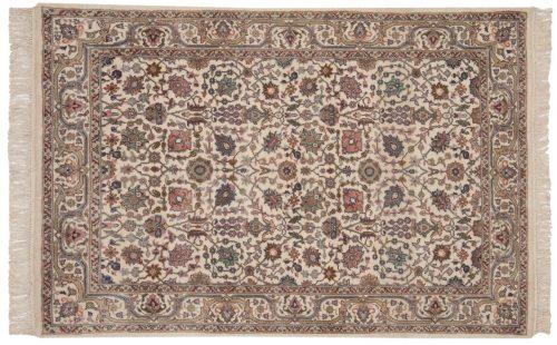 4×6 Tabriz Ivory Oriental Rug 016096