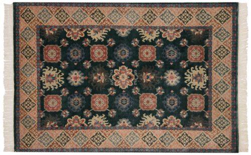 4×6 Tibetan Green Oriental Rug 016826