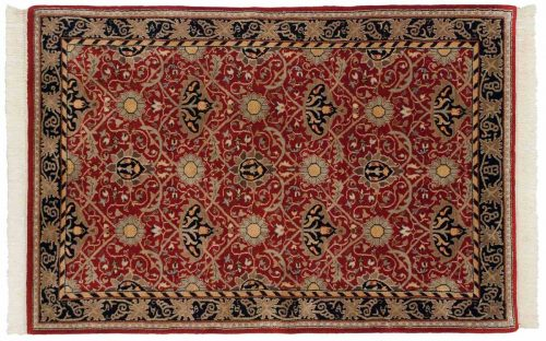 4×6 William Morris Red Oriental Rug 036445