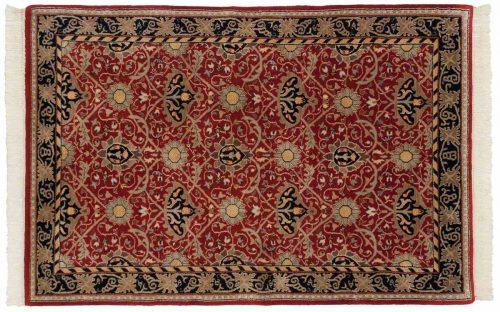 4×6 William Morris Red Oriental Rug 036445