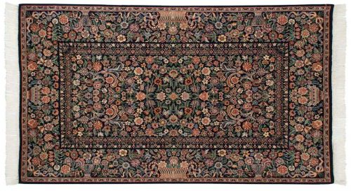 4×7 Aubusson Blue Oriental Rug 025884