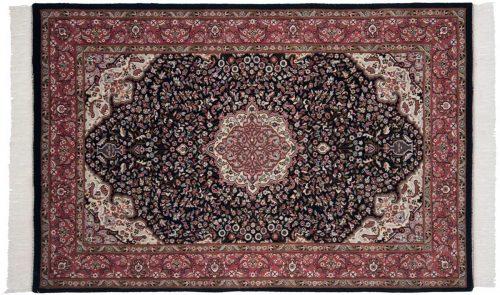 4×7 Tabriz Blue Oriental Rug 036982