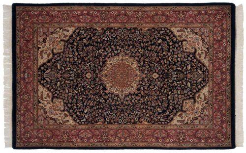 4×7 Tabriz Blue Oriental Rug 037287