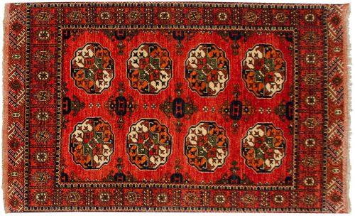 4×7 Ersari Rust Oriental Rug 048874